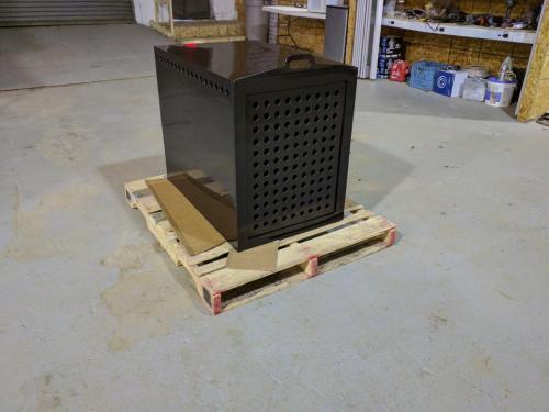 Black HDPE Dog Create