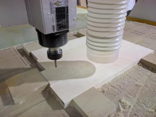 CNC Cutting Maple