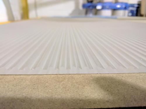 CNC Cut Textured Acrylic